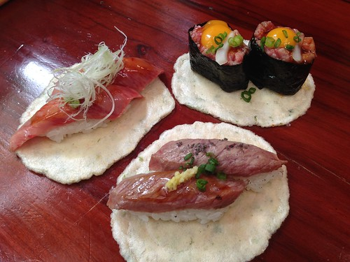gifu-takayama-kotteushi-hida-beef-sushi-3types