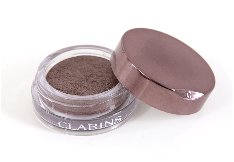 Clarins 07 silver plum Ombre Iridescente eyeshadow