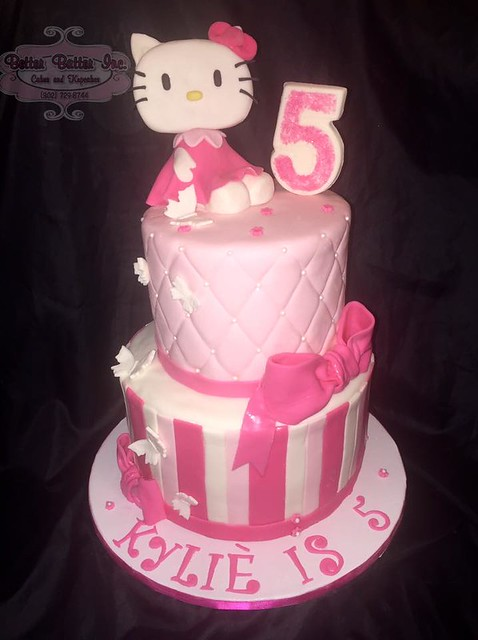 Hello Kitty Themed Cake by Better Batter Inc.