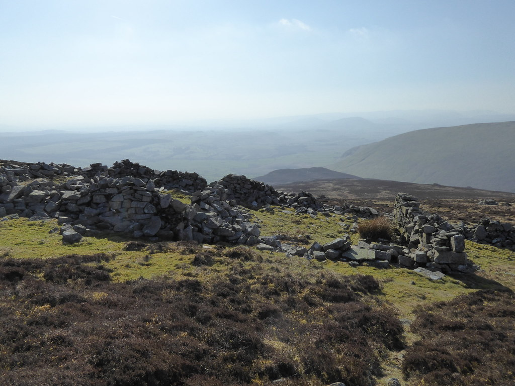 """Fort"" on Carrock Fell"