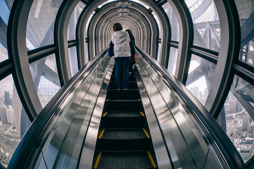 Escalator to The Clouds