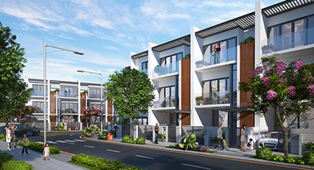 Dự án nhà phố và biệt thự Golf Park Residence