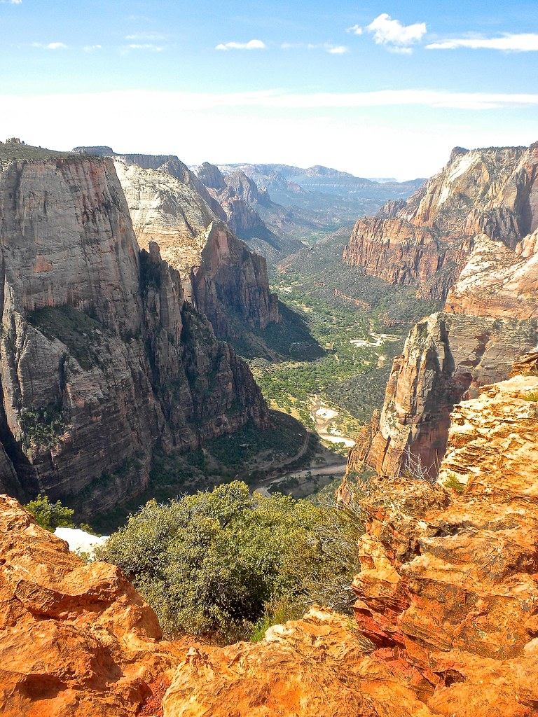 Zion National Park valleys