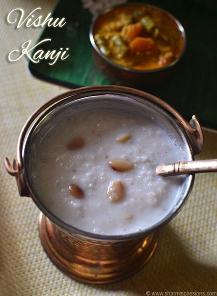 Vishu Kanji Recipe