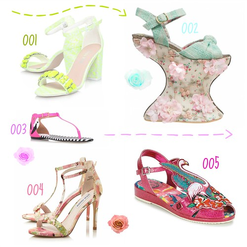 SS15 Shoes Collage