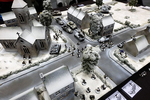 Winter WW2 Table at Salute 2015