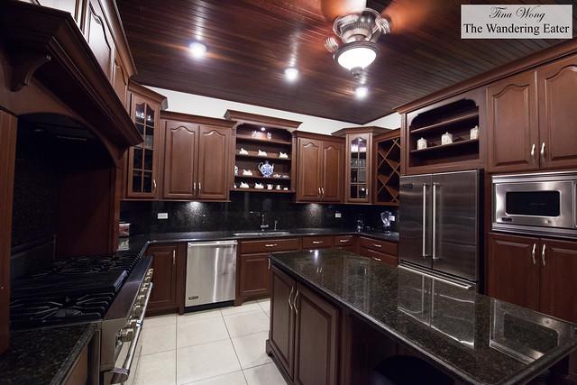 Kitchen space in the third floor
