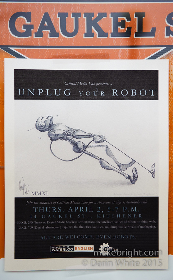 Unplug Your Robot - CriMeLab 003
