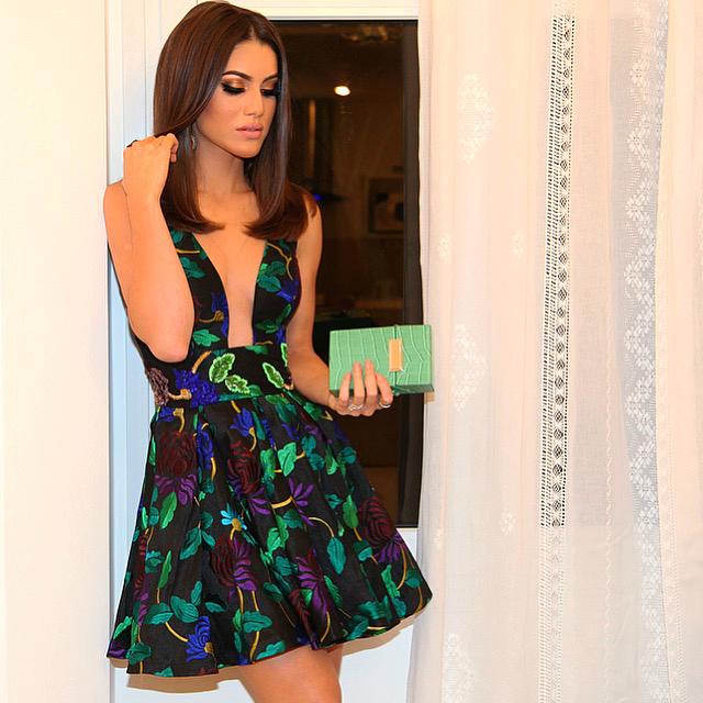 camila coelho floral party dress 4
