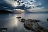 Sunset in a calm sea 2