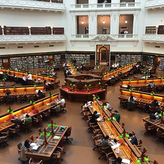 Reading Room, State Library of Victoria