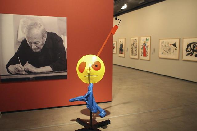 Exposición retrospectiva de Joan Miró en Brasil
