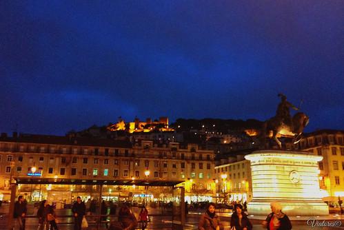 Praça da Figueira. Lisbon. Portugal