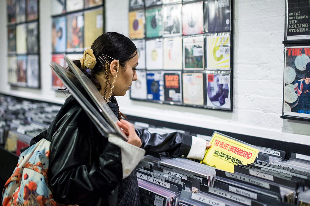 Record Shopping With Zhala