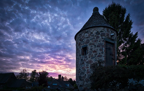 sunset england tower unitedkingdom f gb swithland