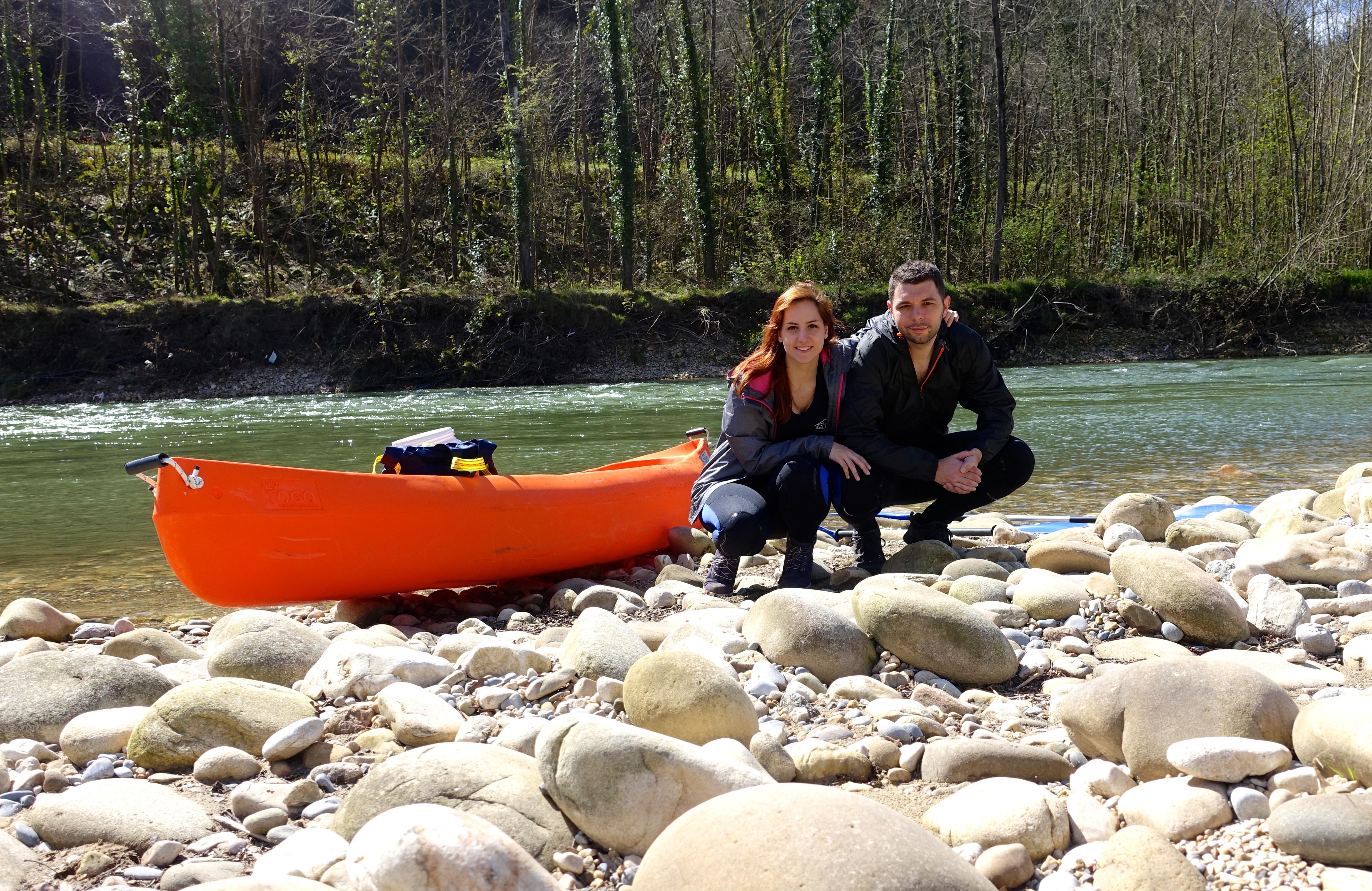 Ruta por Asturias en coche - descenso del Sella