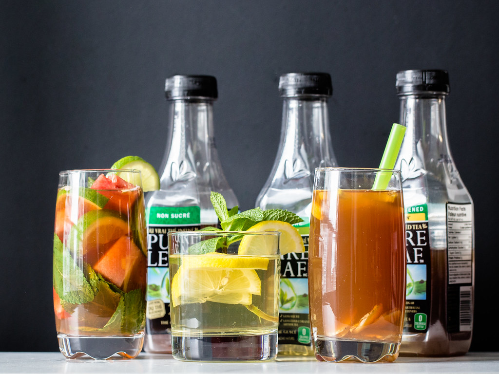 Iced Tea Recipes with Pure Leaf Tea