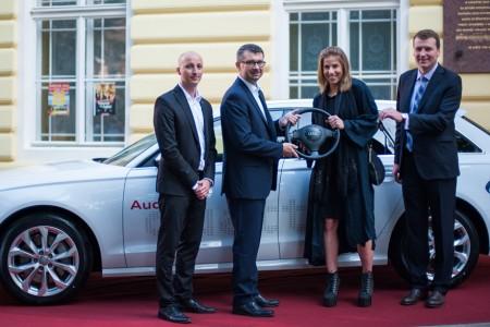 Ester Ledecká je novým členem Audi Ski Teamu