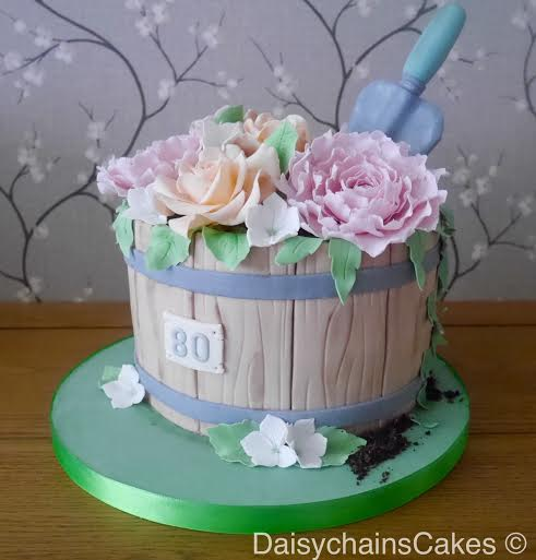 Flowerpot Cake by Sharon Hart