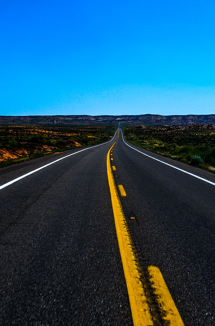 Header of american road