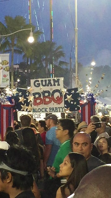 Fourth of July Guam barbecue