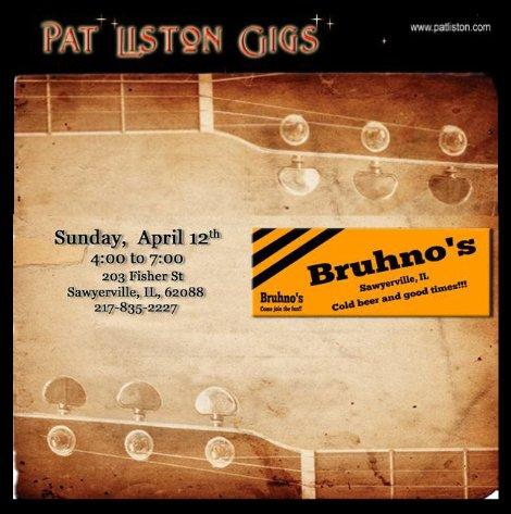 Pat Liston 4-12-15