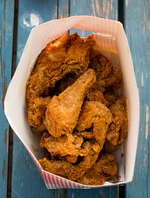 Fried chicken from Wayside