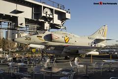 154977 NM-301 - 13793 - US Navy - McDonnell Douglas A-4F Skyhawk - USS Midway Museum San Diego, California - 141223 - Steven Gray - IMG_6548
