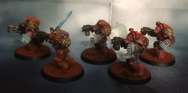 Deathstorm Blood Angels Terminators