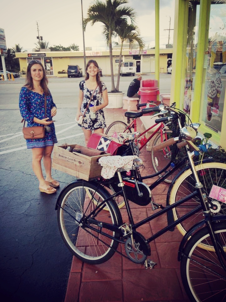 Ladies bike ride