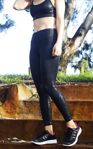 black workout tights from Cotton On