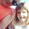 Roller coaster selfie. #momanddaughter #wastatefair