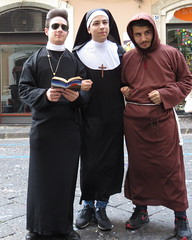 nun, clothing, costume, person,