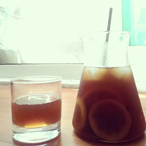 20150425  午後  冰蜂蜜檸檬紅茶
