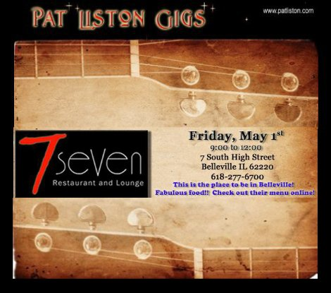 Pat Liston 5-1-15