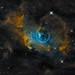 Deep View Bubble Nebula by JK OBSERVATORY www.jkobservatory.net
