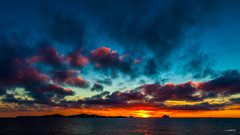 Sunset @ Petermann Island, Penola Strait, Antarctica
