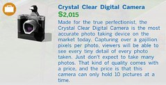Crystal Clear Digital Camera