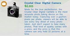 Crystal Clear Digital Camera