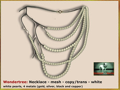 Bliensen - Wondertree - necklace - white Kopie