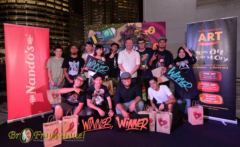 Nando's Presents An Uptown Showdown of Graffiti Art!