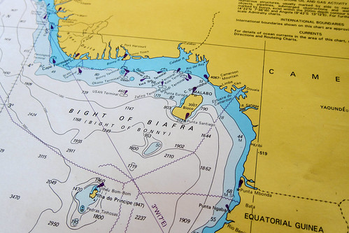 Nautical chart - Bight of Biafra