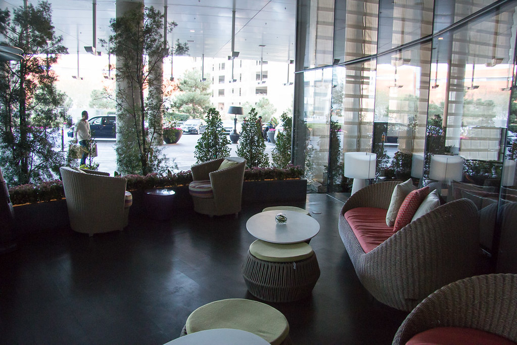 Outdoor Lounge Space at Vdara