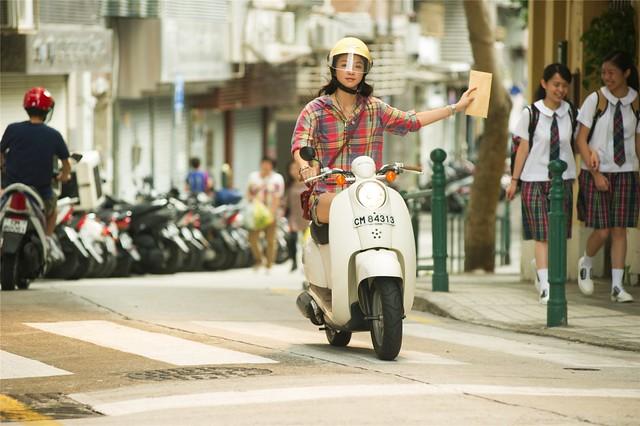 Tang Wei motorbike
