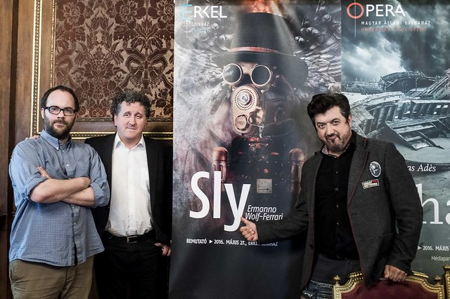 Sly - sajtótájékoztató az Operaházban