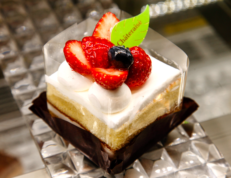 Square Cheese Cake