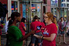Television Interview Chicago Teachers Union Rally 6-22-16 2305