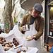El vendedor de cannoli by Karina Manghi