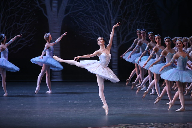 Olga Smirnova dances in The Bolshoi's production of Don Quixote © Elena Fetisova