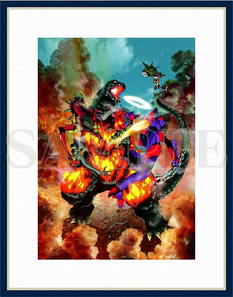 【哥吉拉對新世紀福音戰士】聯名畫作・聲援插畫 複製原畫(前田真宏/開田裕治/雨宮哲/Rockin'Jelly Bean/村上隆)發售!